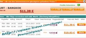 Flugpreisvergleich bester Preis Qatar Airways