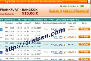 Flugpreisvergleich bester Preis Gulf Air