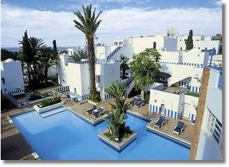 Hoteltipp für Urlaub und Hotels in Agadir Hotel Tagadirt Marokko Reisen