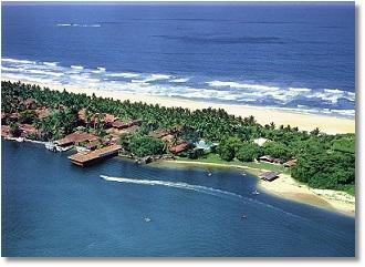 Foto zeigt Hotels in Colombo auf dem Bild der Hotel Club Bentota schöner Allinklusive Urlaub auf Sri Lanka