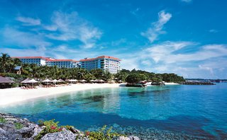 Urlaub Cebu Mactan Island Philippinen 5 Sterne Hotel Shangri-Las-Mactan-Resort-Spa Wellness Hotels