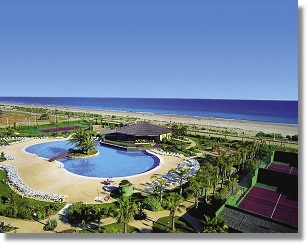 Foto Urlaub Algarve Hotel Oasis Islantilla an der Costa de la Luz Onubense Spanien Portugal Reisen