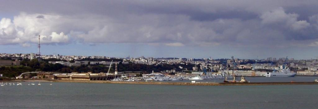 Brest Harbour Hafen Frankreich