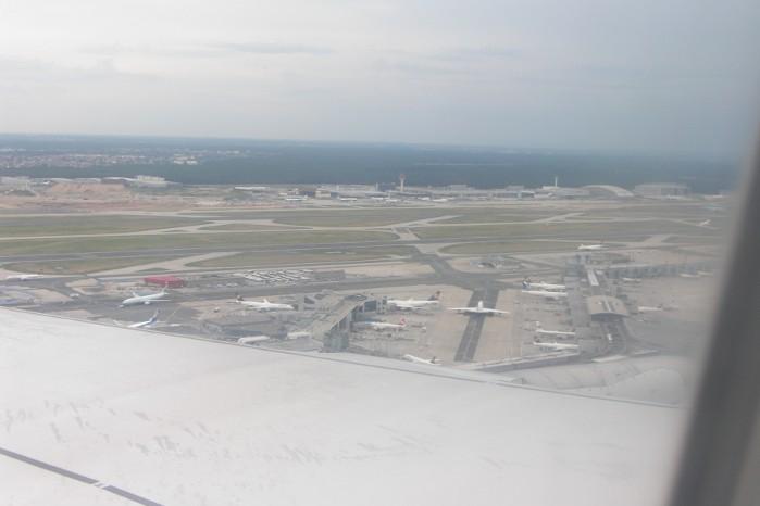 Flugzeit von und nach Deutschland Ausland