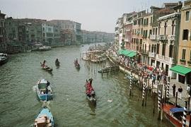 Urlaub Venedig Italien Canal Grande Venezia