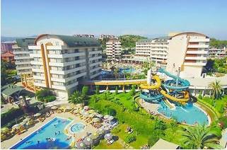 Foto: Türkei Urlaub Hotel-Tipp für das Hotel Alaiye Resort in Incekum auf der Halbinsel Fugla in der Tuerkei