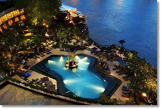 Reisen Thailand Hotels 5 - 6 Sterne  Hotel Shangri La - Menam Chao Phraya Fluss Bangkok Luxushotels