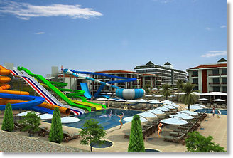 Billige Reisen nach Türkei All-inklusive 5 Sterne Hotel Eftalia Aqua Resort Hotels Reise