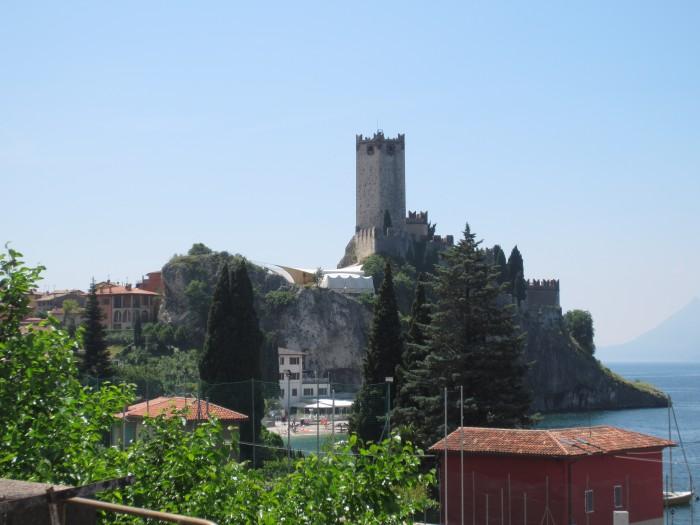 Malcesine Castello Scaligero Seilbahn Monte Baldo